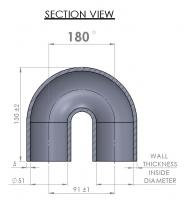 51mm Elbow - 180°