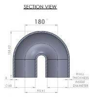 60mm Elbow - 180°